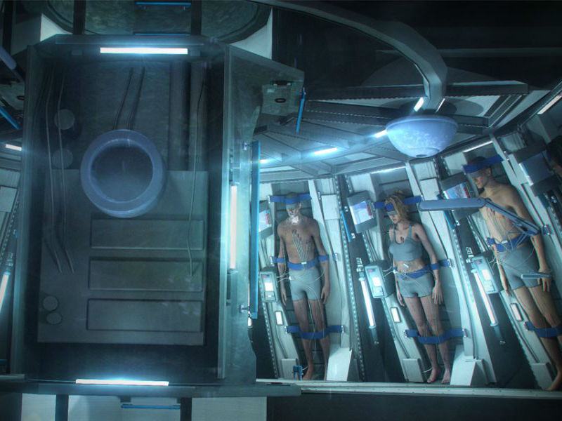 Spaceworks may have a real world stasis chamber for space for Passengers spaceship