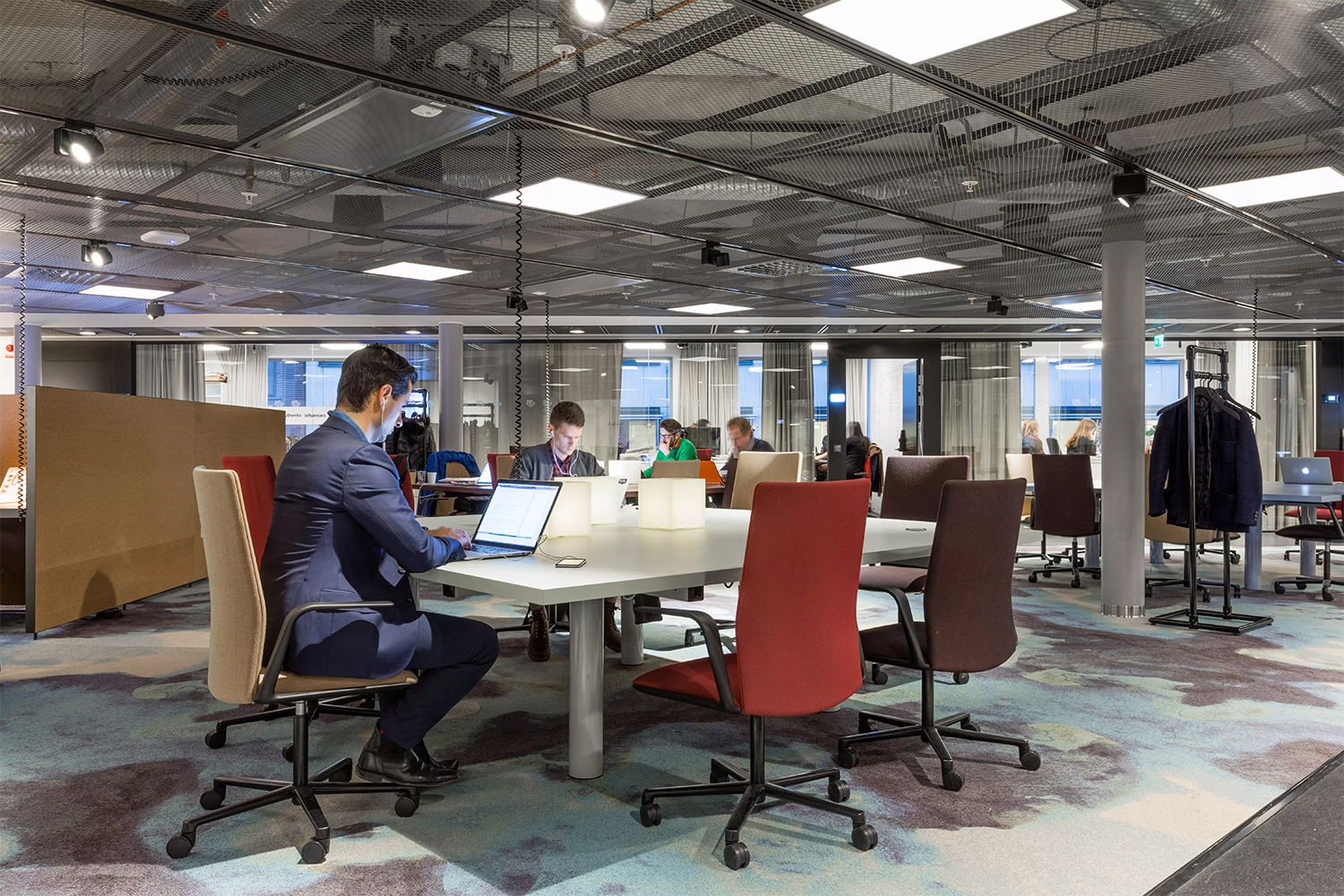 Stockholm 39 s epicenter experiments with the office of the for Amazon sweden office