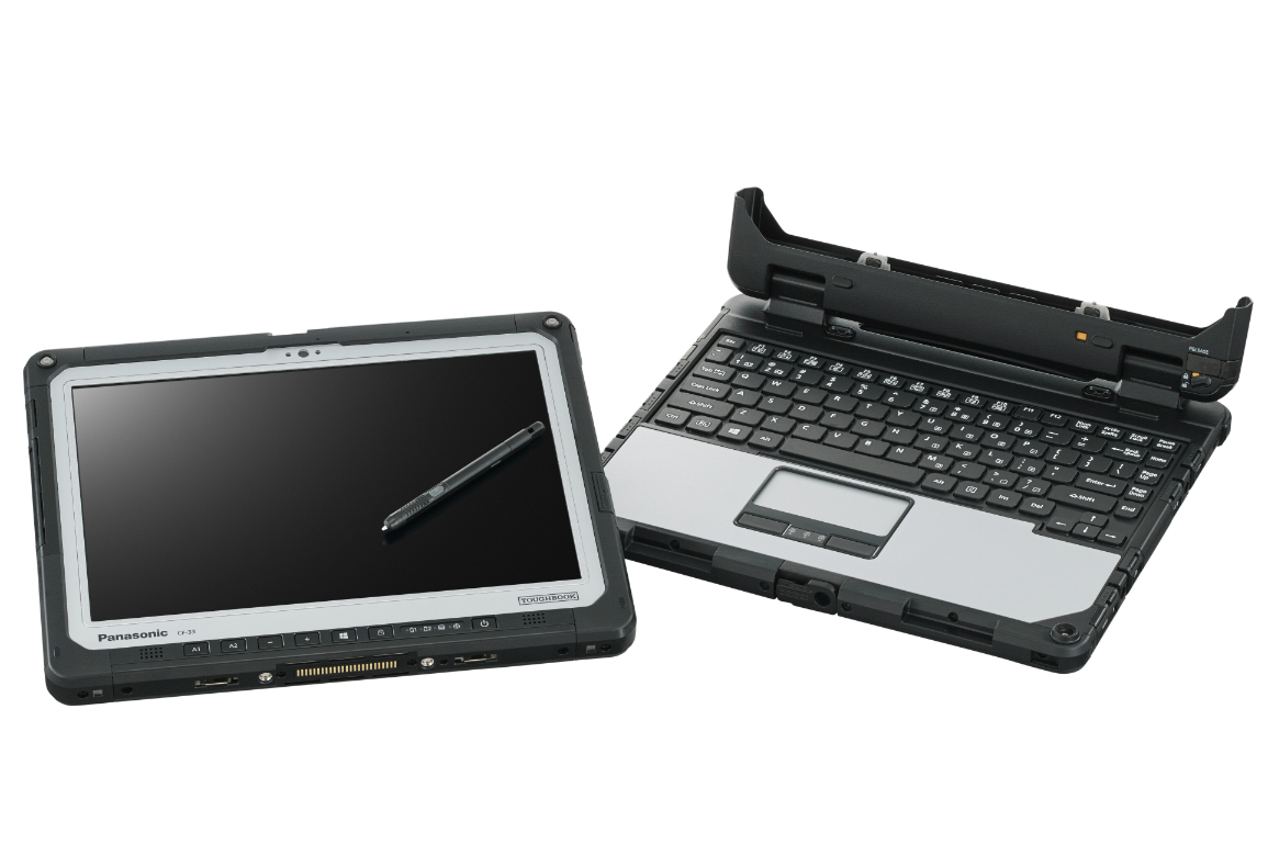 Panasonic Toughbook Cf 33 Is The Windows 10 2 In 1 That