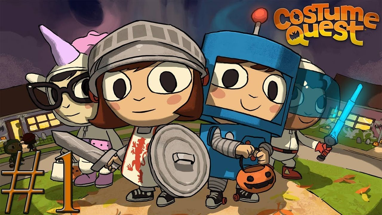Costume Quest Turns Into A Cartoon For Amazon Next Year