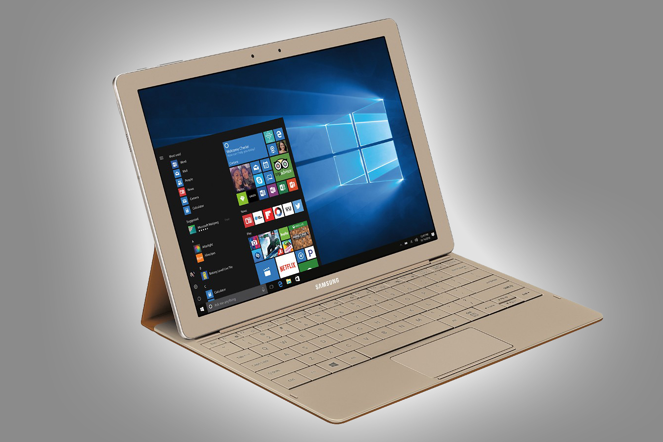 Need a good 2-in-1 tablet? Gold Samsung Galaxy TabPro S is ...