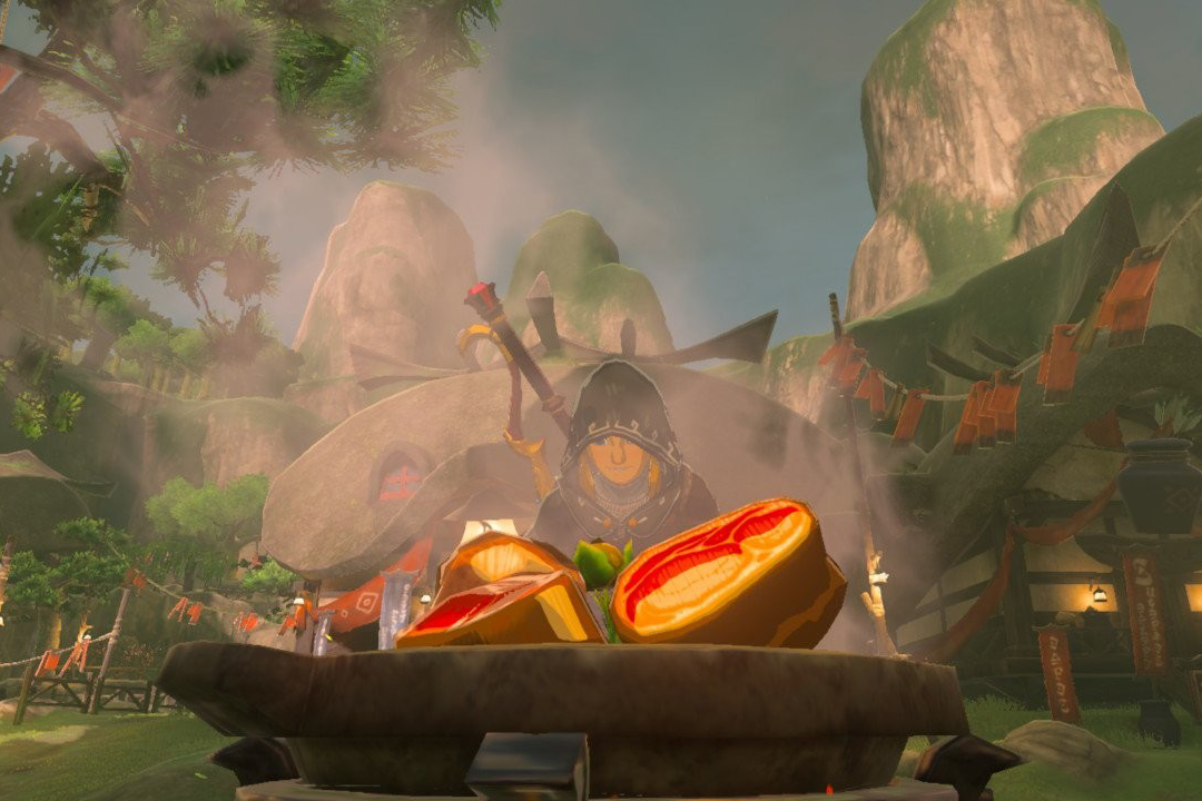 How to cook food and elixirs in 39 the legend of zelda for Cuisine zelda