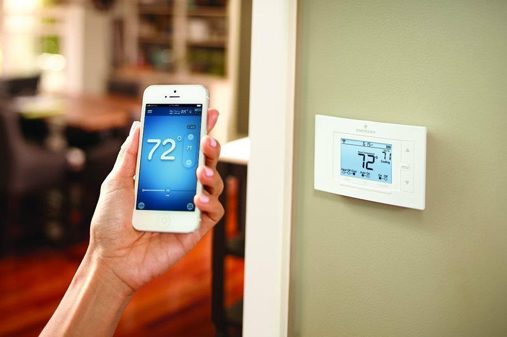 Emerson sensi wi fi thermostat deal 18 percent off for Emerson sensi