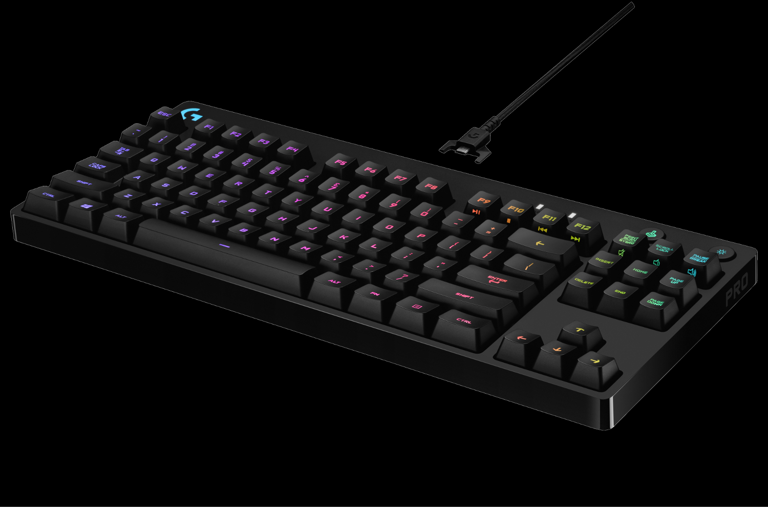 New Logitech G Pro Mechanical Gaming Keyboard Arrives for Esports Enthusiasts