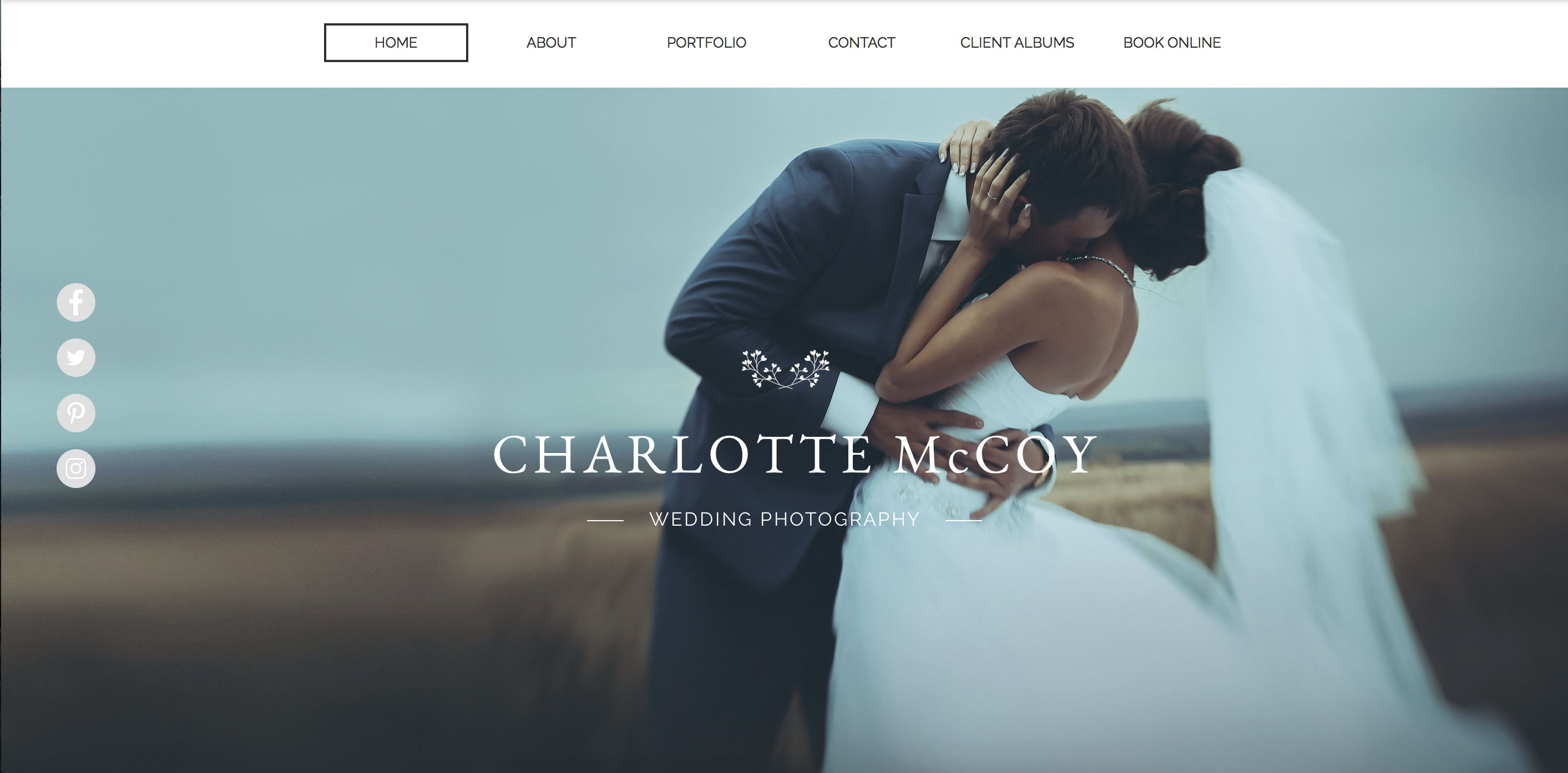The 8 best portfolio websites for photographers digital for Best wedding photography websites