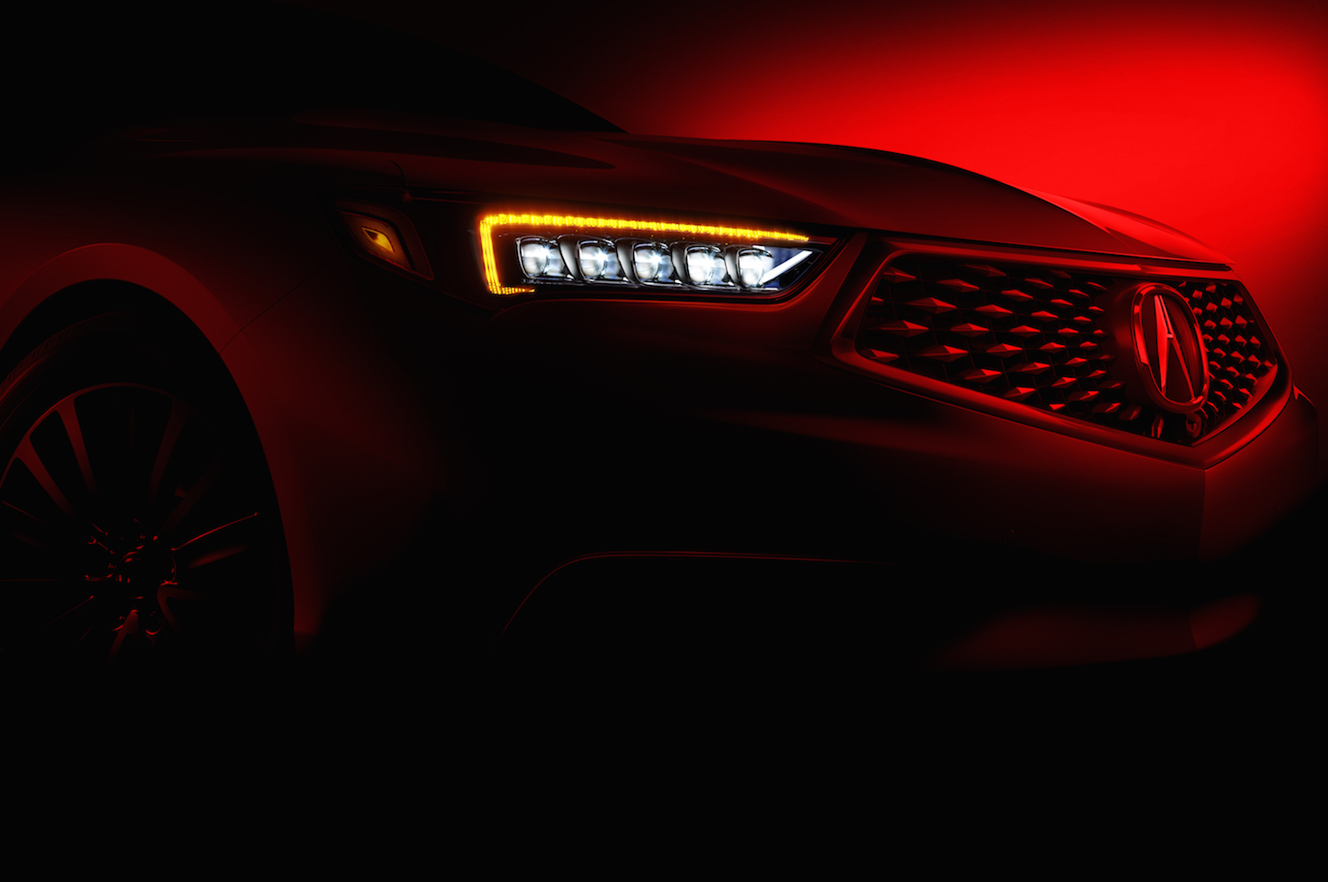 Acura TLX teased ahead of New York Auto Show
