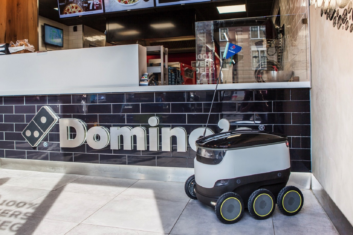 Domino's Pizza and Starship Technologies will deliver ...
