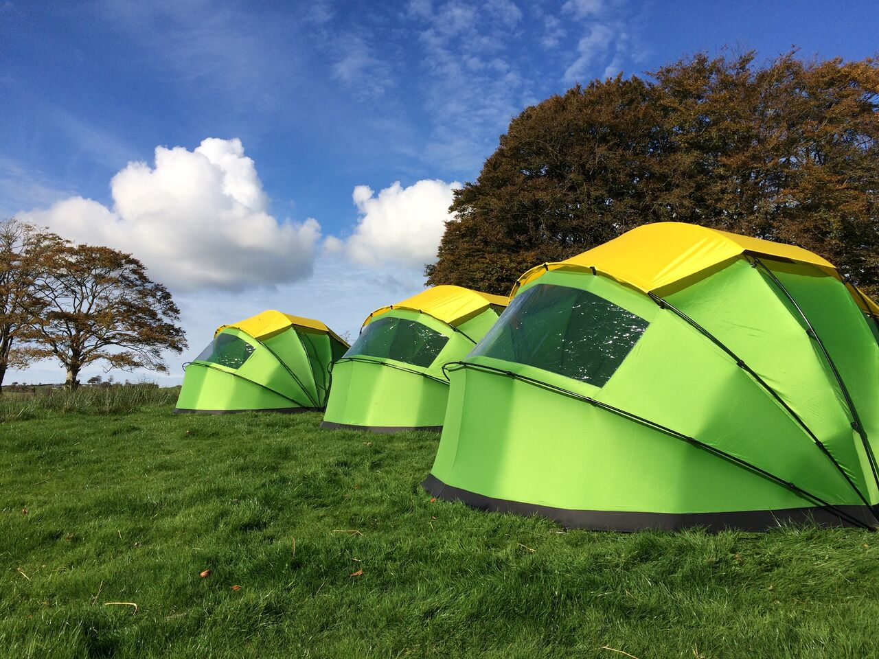 Meet The Nano 2 A Clamshell Dome Tent That Opens And