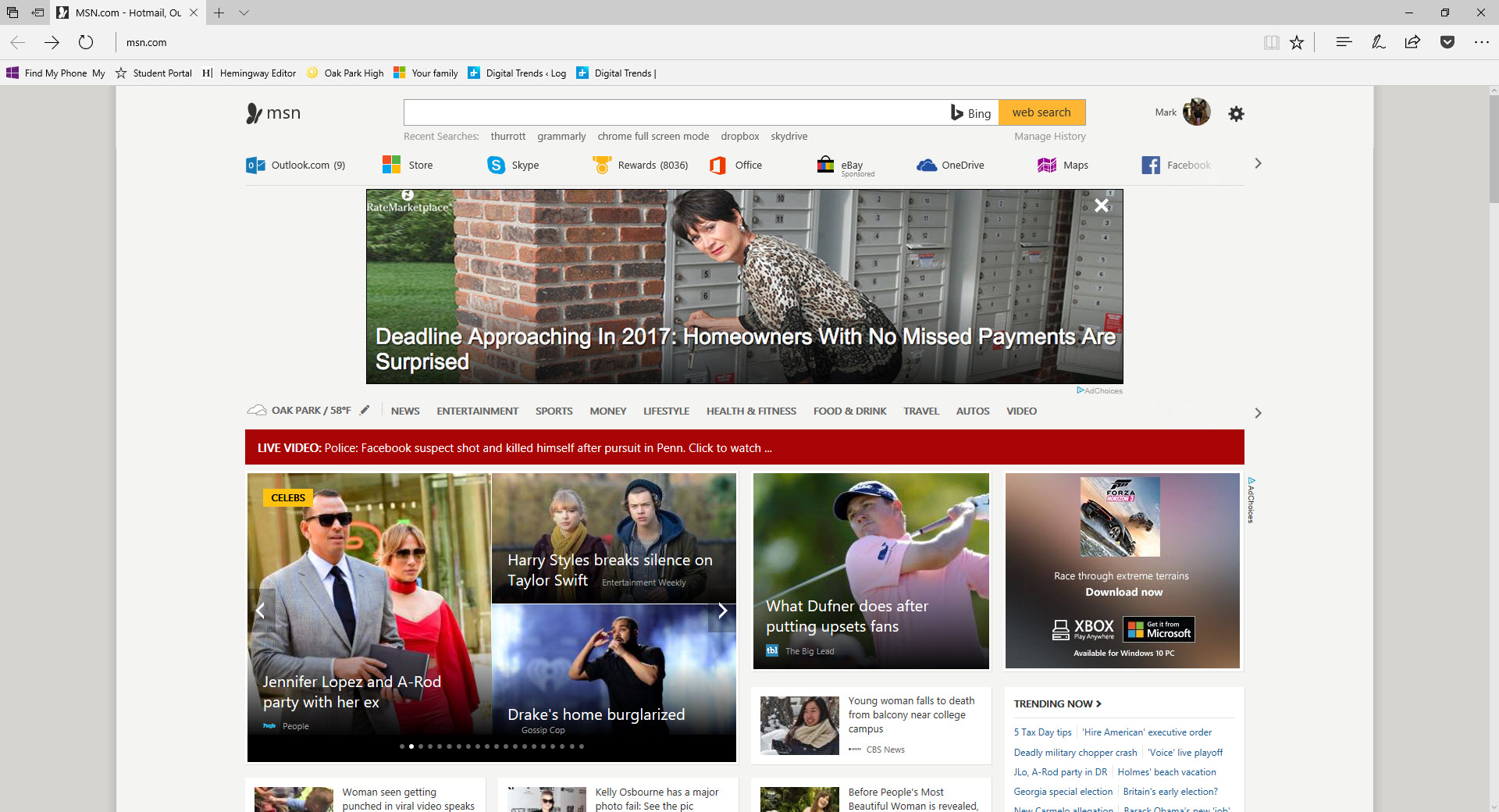 Microsoft's Edge browser really does have a full-screen ...