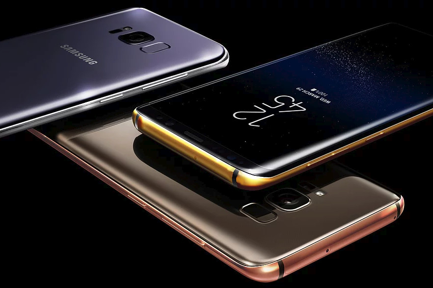 You can buy the Galaxy S8 in 24-karat gold, platinum, and ...