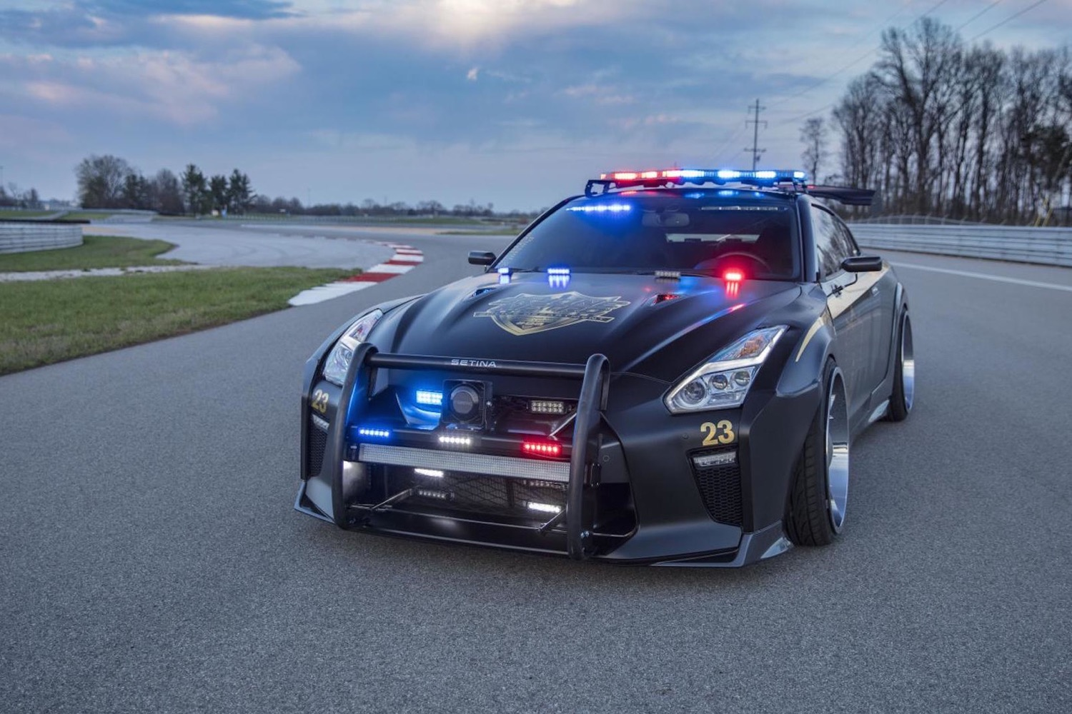 Meet Copzilla A Tricked Out Nissan Gt R Built To Fight