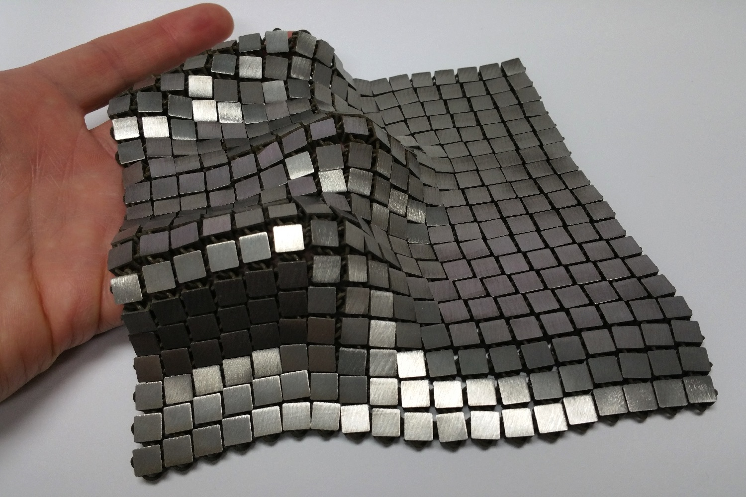 Nasa has developed a futuristic 3d printed space fabric for 3d space fabric