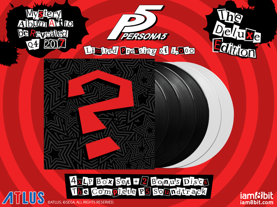 'Persona 5' Soundtrack Coming To Vinyl In Collaboration With iam8bit