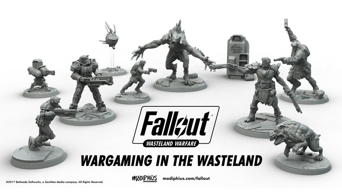 Fallout: Wasteland Warfare Brings The Apocalypse To Your Dining Room Table