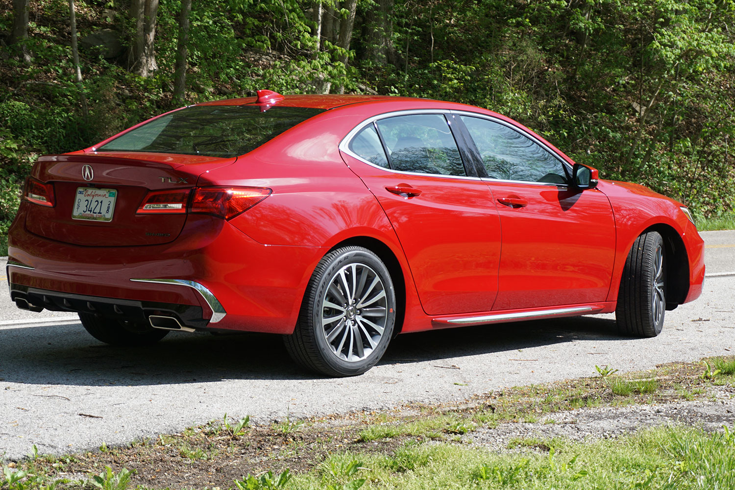 2018 acura tlx first drive review digital trends. Black Bedroom Furniture Sets. Home Design Ideas