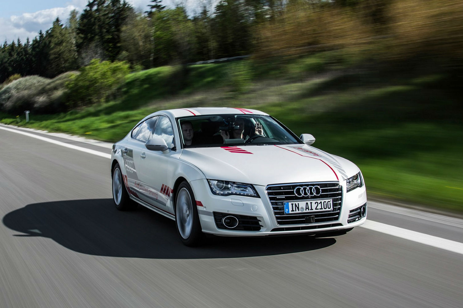 Audi Obtains Permits To Test Selfdriving Cars On New York Roads - Audi car a7