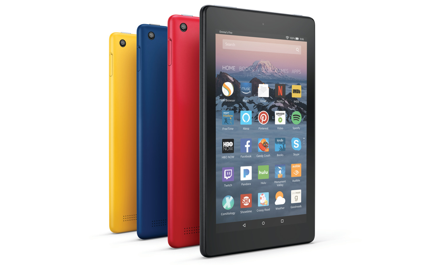 The latest Amazon Fire 7 and Fire HD 8 tablets are slimmed ...