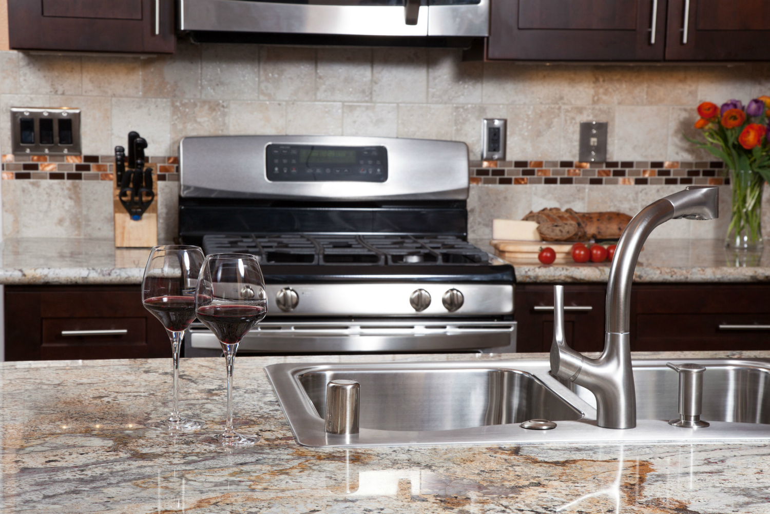 Heres How To Clean Granite Countertops The Right Way Digital Trends - Granite countertops in kitchens
