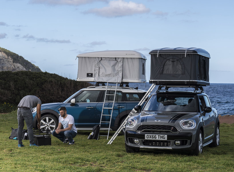 & Sleep on your car with this new u0027Mini Countrymanu0027 roof tent memphite.com