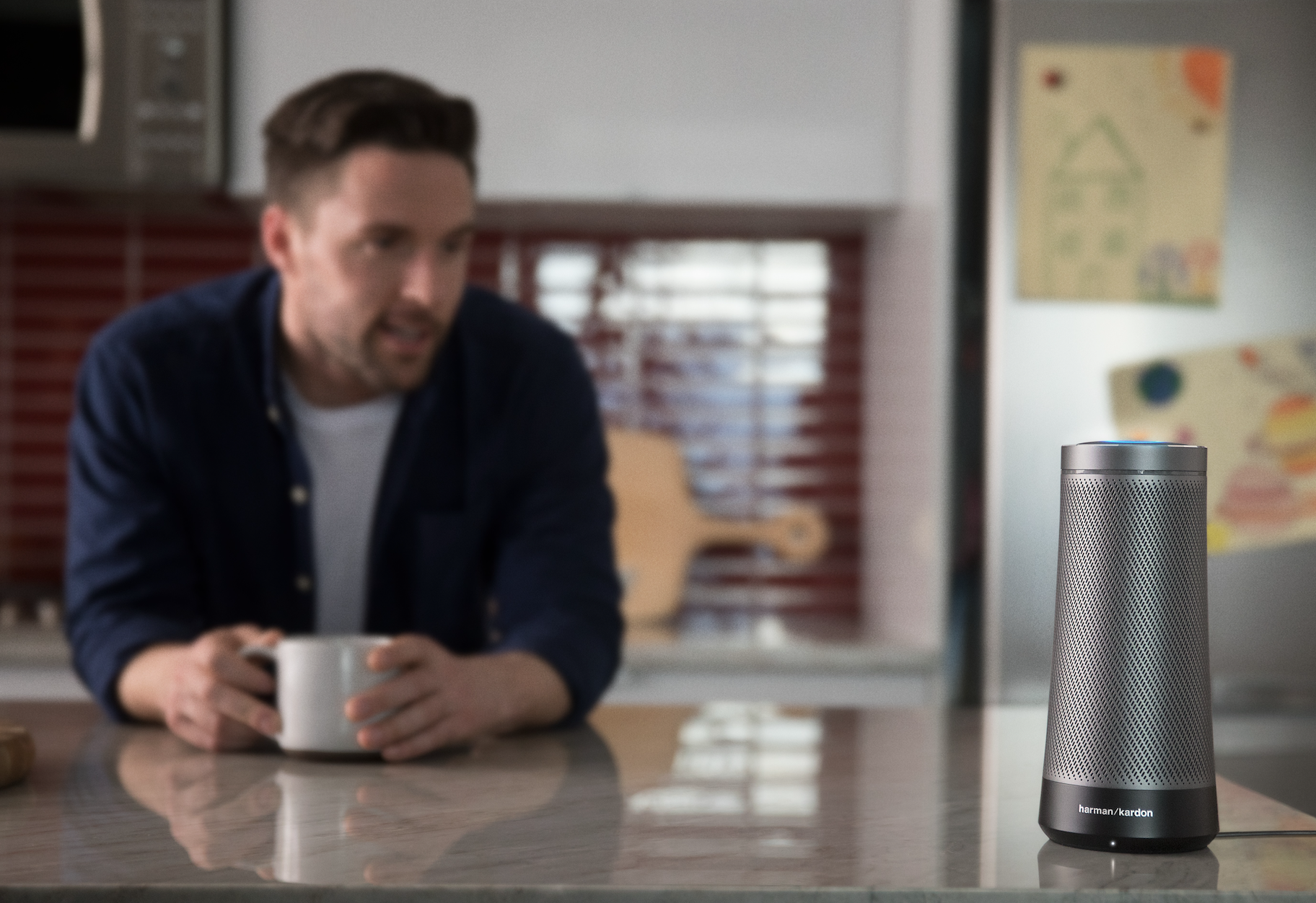 Harman Unveils 'Harman Kardon Invoke' Voice-Activated Speaker With Cortana
