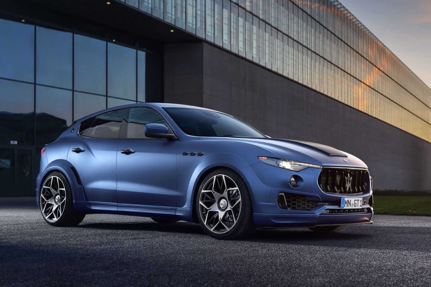 tuner novitec adds visual mechanical muscle to maserati s levante