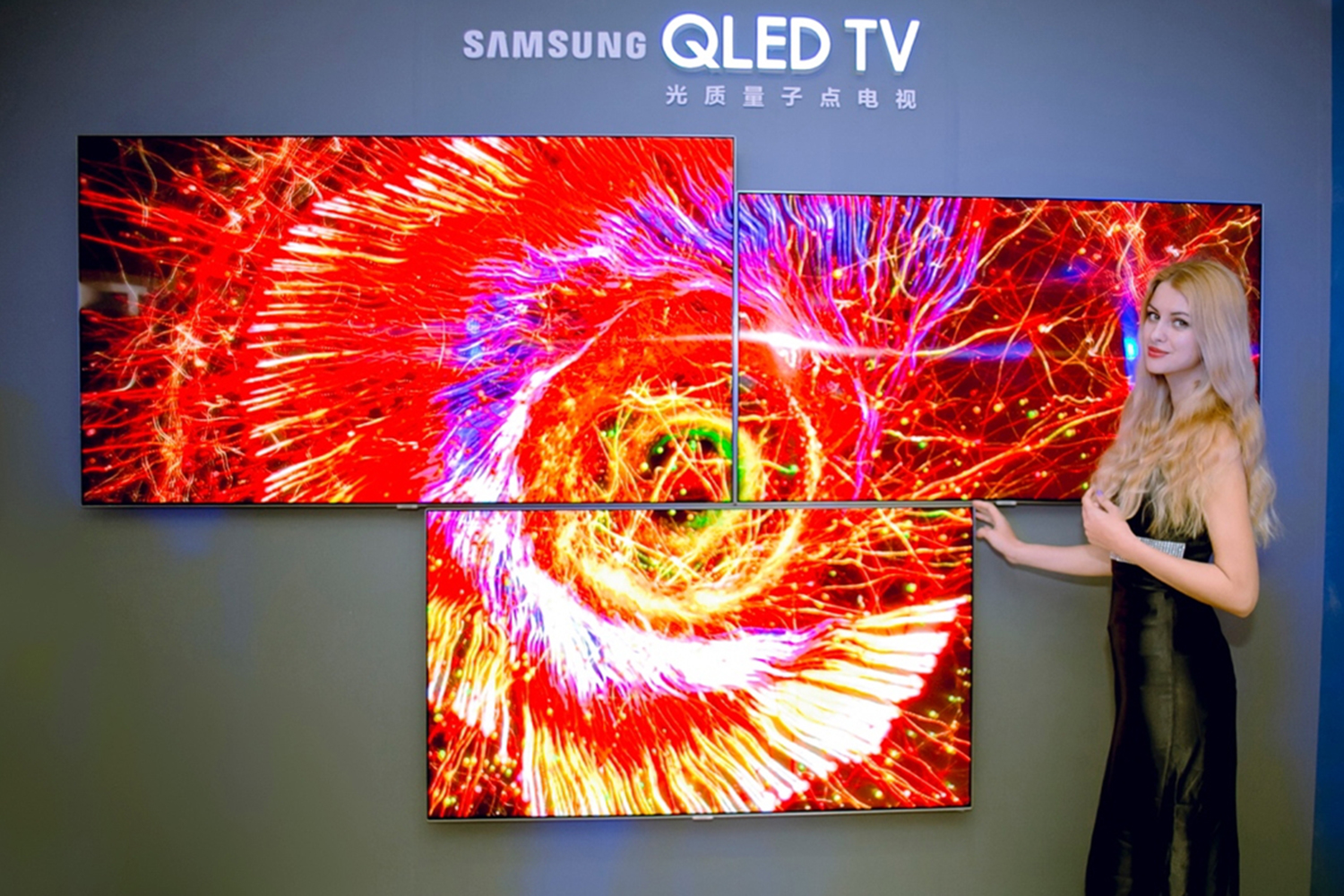 samsung forges alliance with rivals to bolster qled against lg 39 s oled. Black Bedroom Furniture Sets. Home Design Ideas
