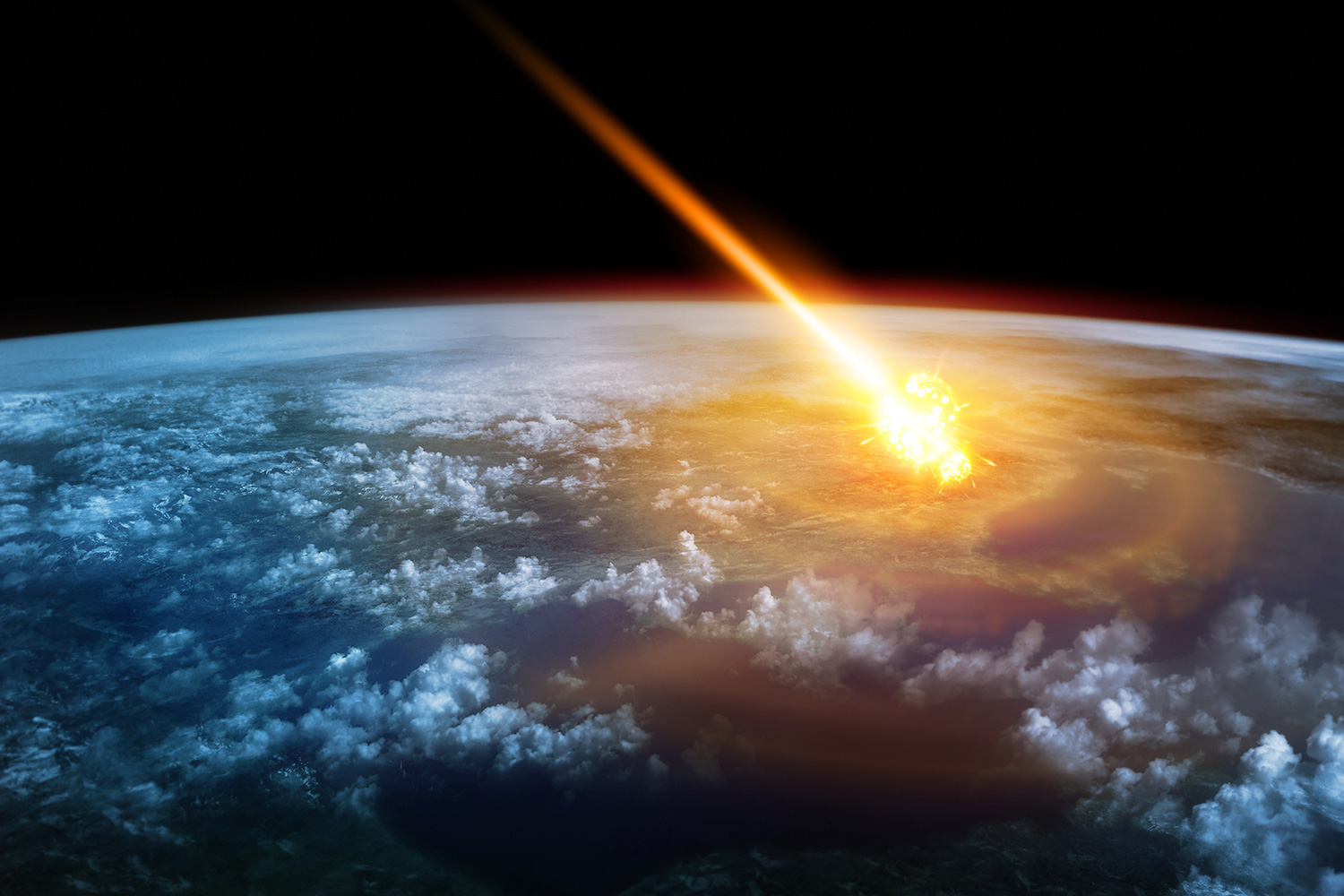 recent asteroid meteor hitting earth - photo #27