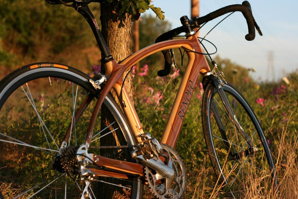 renovo reveals the luxury of lumber with its stunning wooden bike frames - Wooden Bike Frame