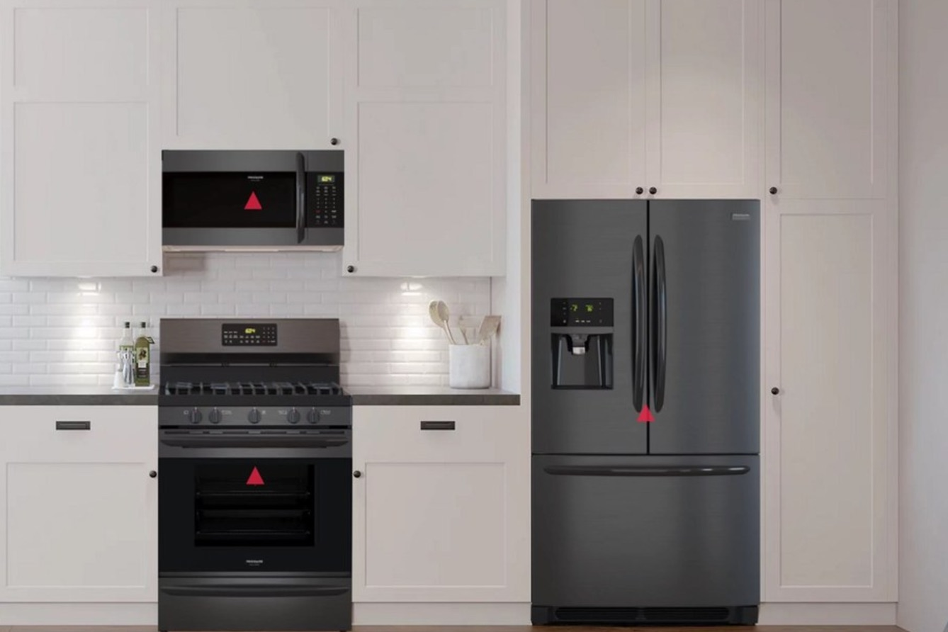 style your kitchen with frigidaire's gallery black stainless steel
