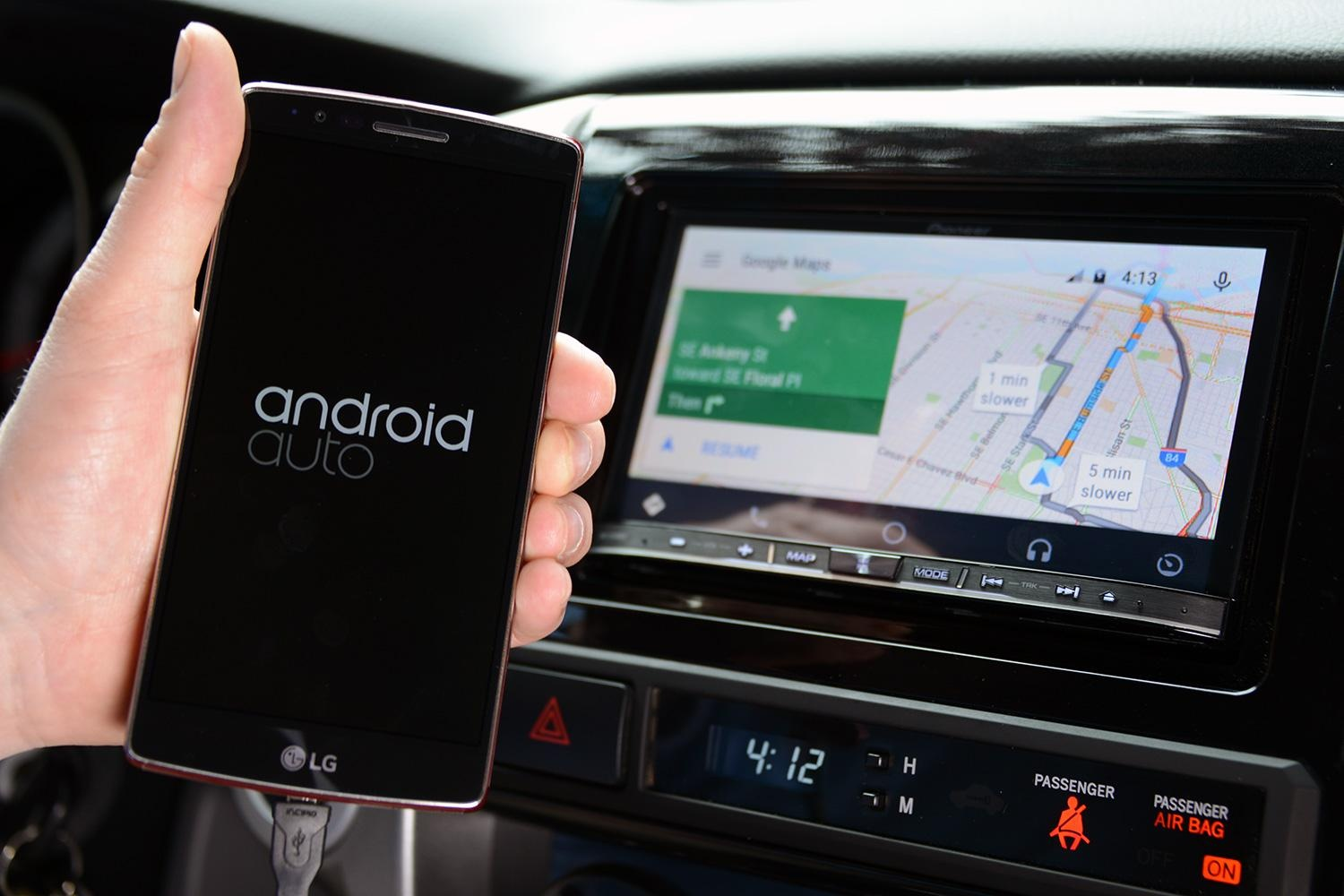 The best android auto apps waze audible hangouts etc for Motor trend app not working
