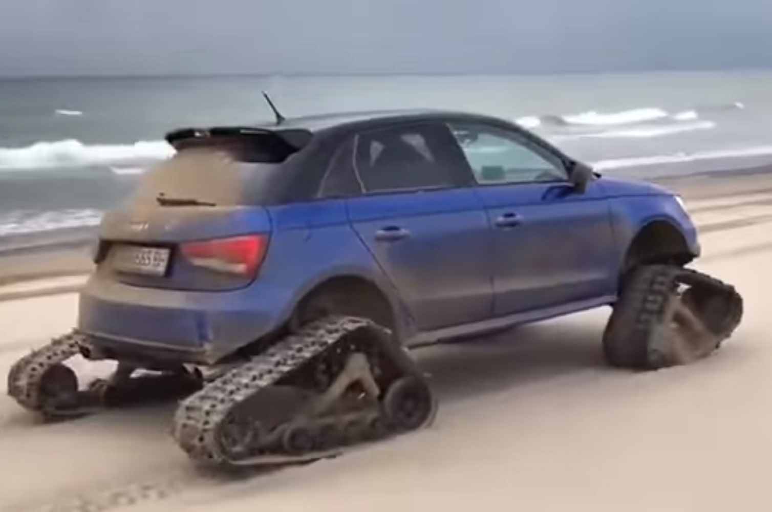 Audi S1 On Tracks Is The Surprisingly Cool Answer To The