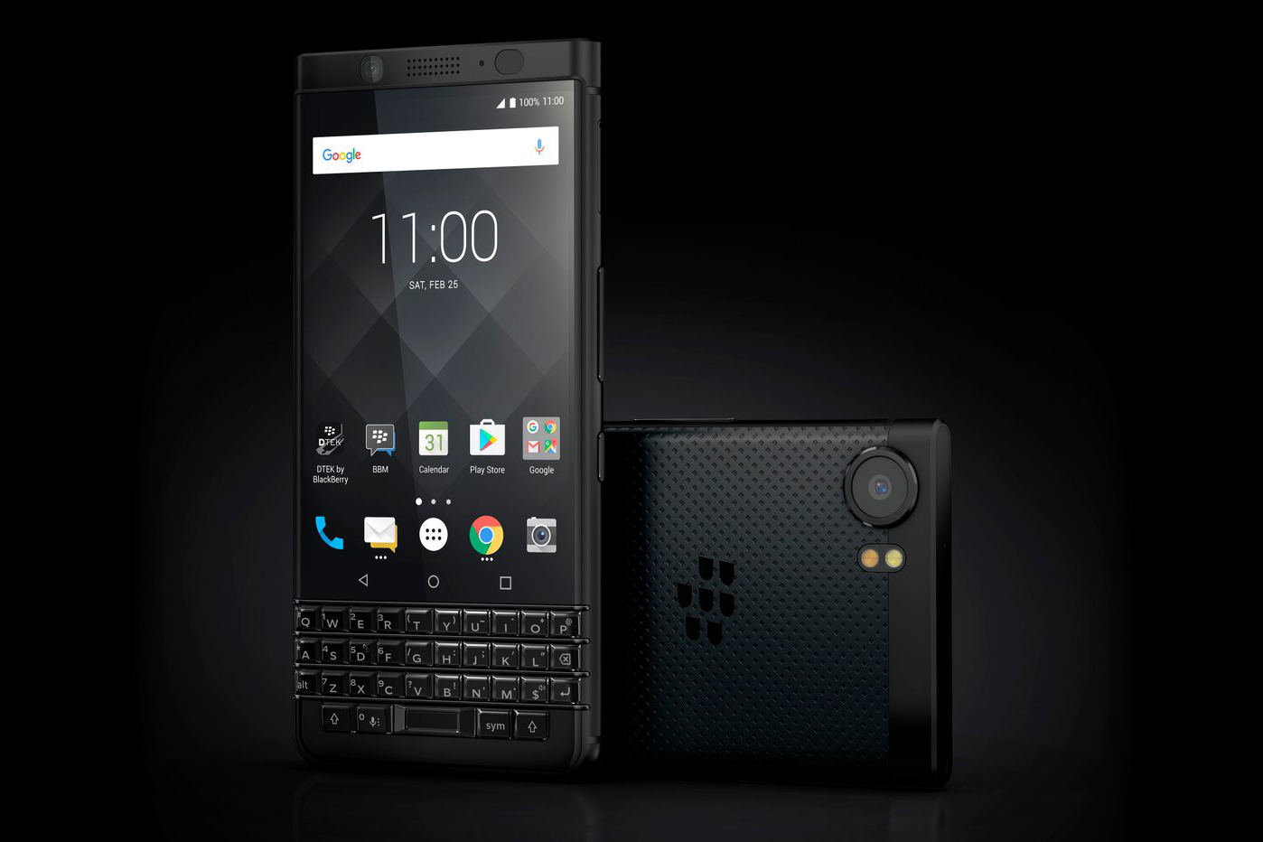 Limited Edition Black Improves On Blackberry S Keyone But