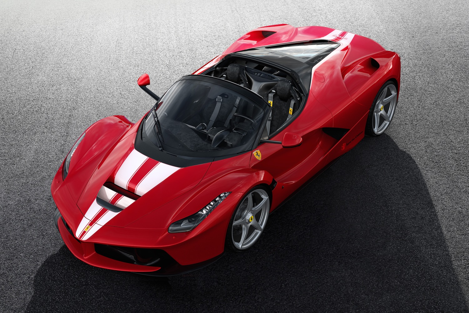 Final Ferrari Laferrari Hybrid Supercar Sells For Million At