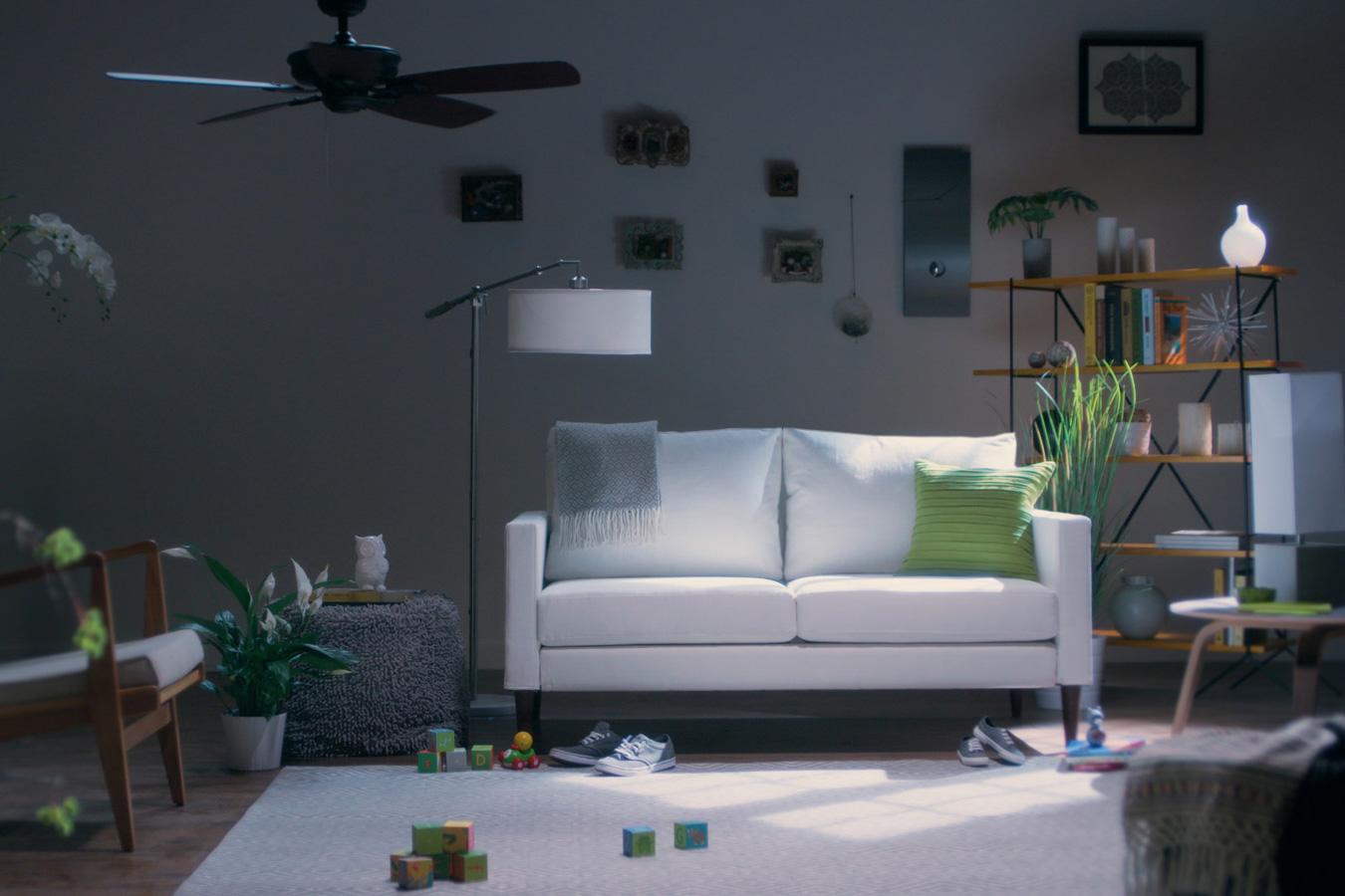 Campaign Furniture Loveseat