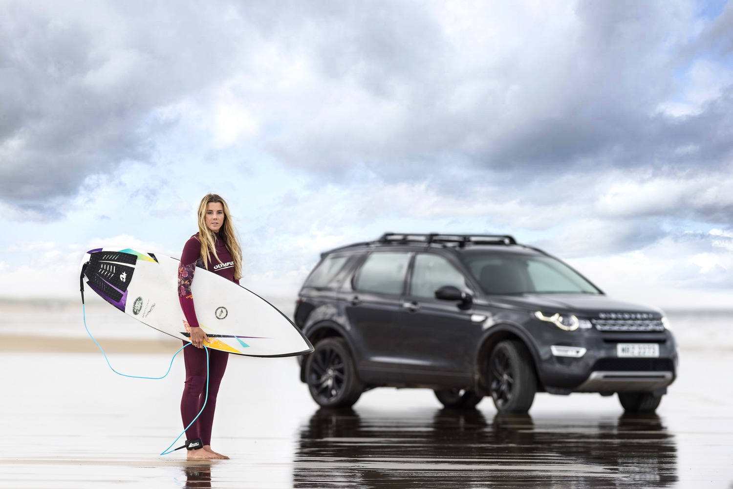 Jaguar Land Rover Made A Surfboard Out Of Recycled Plastic