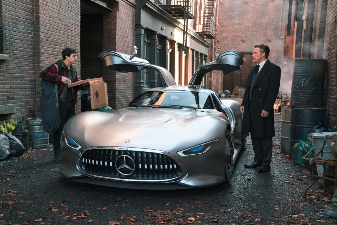 mercedes-benz will dust off an old concept car for 'justice league'
