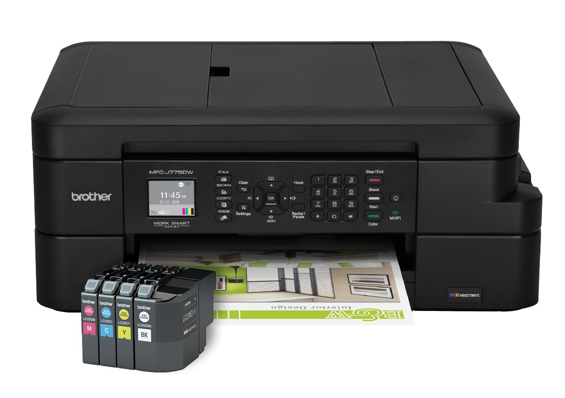 Get cheaper prints than ever with brother s new all in one for Best home office all in one