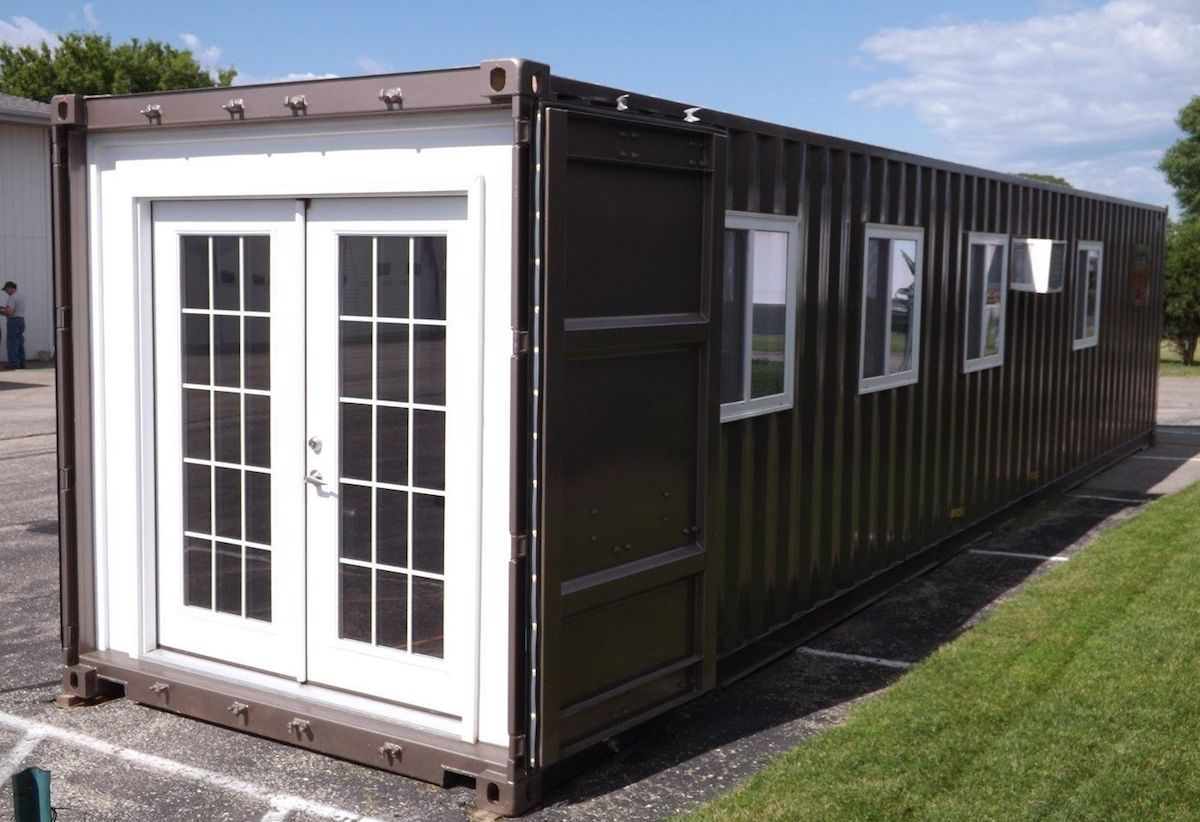 Amazon can now ship a house to your home though delivery costs 3 700 - Container homes usa ...