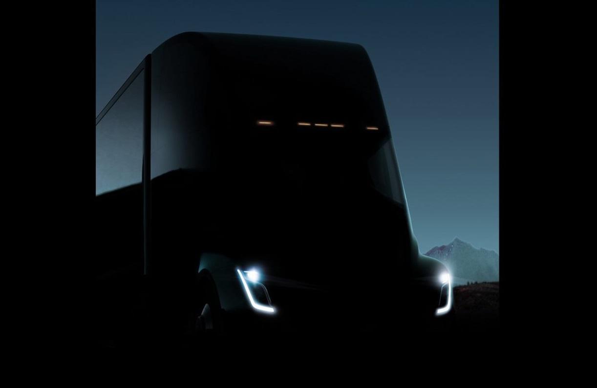 2018 tesla semi truck. plain truck tesla electric semitruck unveiling delayed while musk assists puerto rico for 2018 tesla semi truck