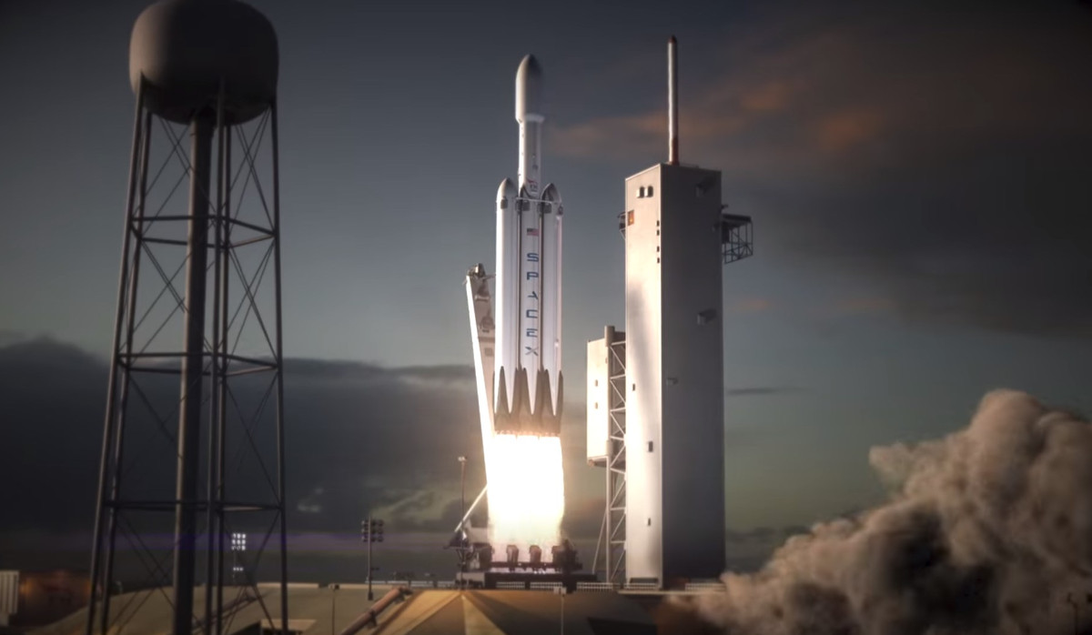 Spacex Falcon Heavy Rocket Everything You Need To Know