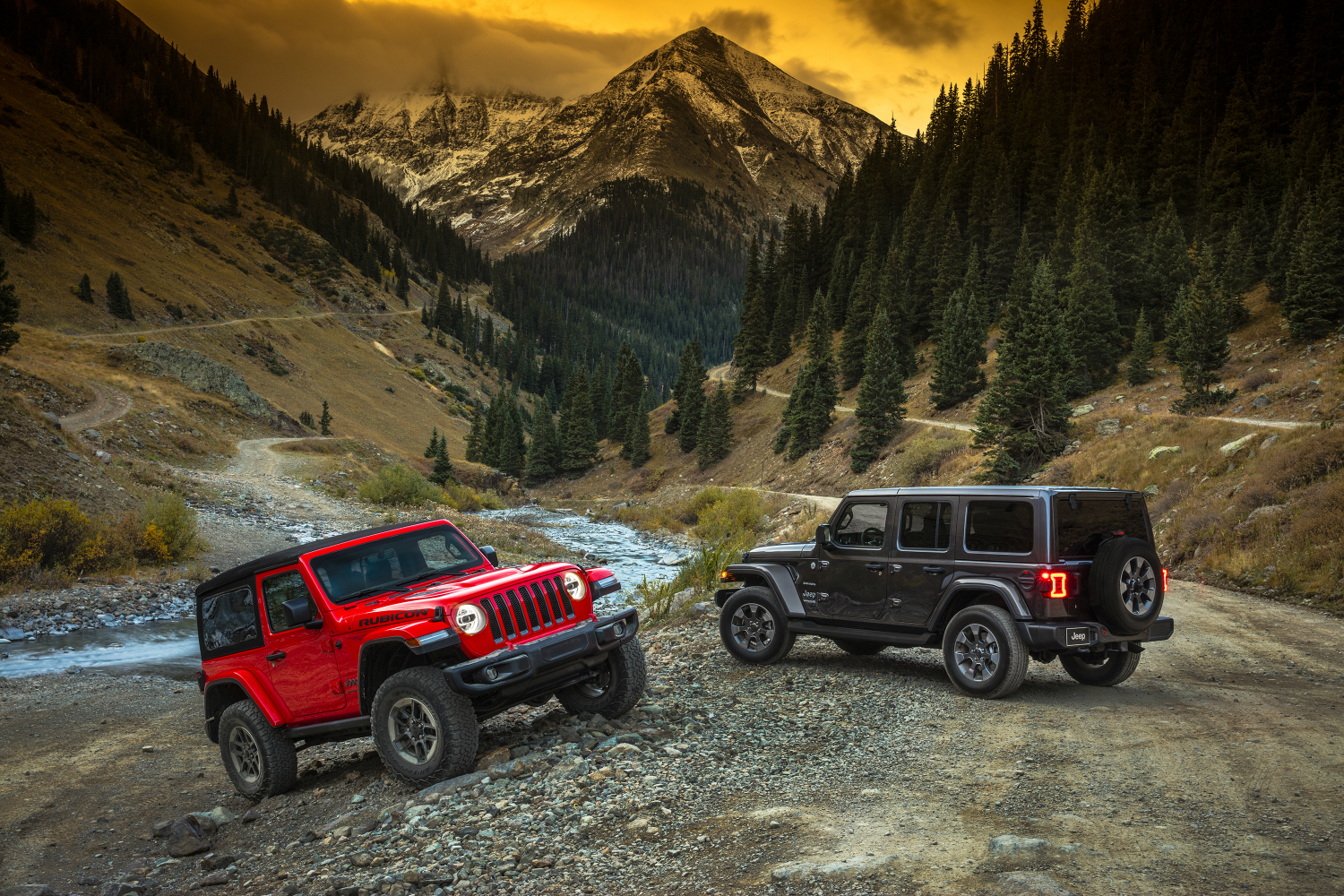 2018 jeep wrangler models include both old and new generations. Black Bedroom Furniture Sets. Home Design Ideas