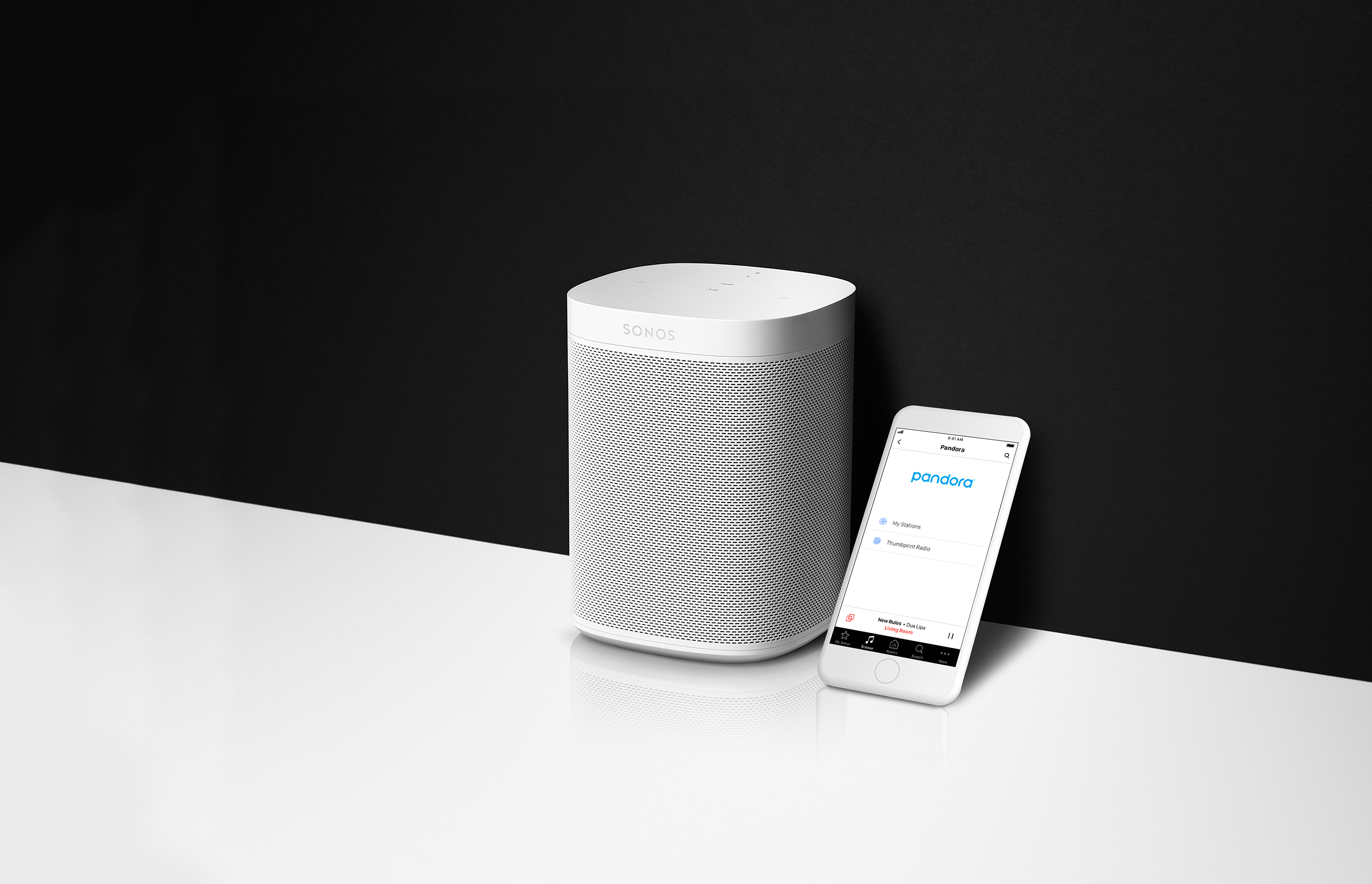 you can now control sonos smart speakers directly from the pandora app. Black Bedroom Furniture Sets. Home Design Ideas