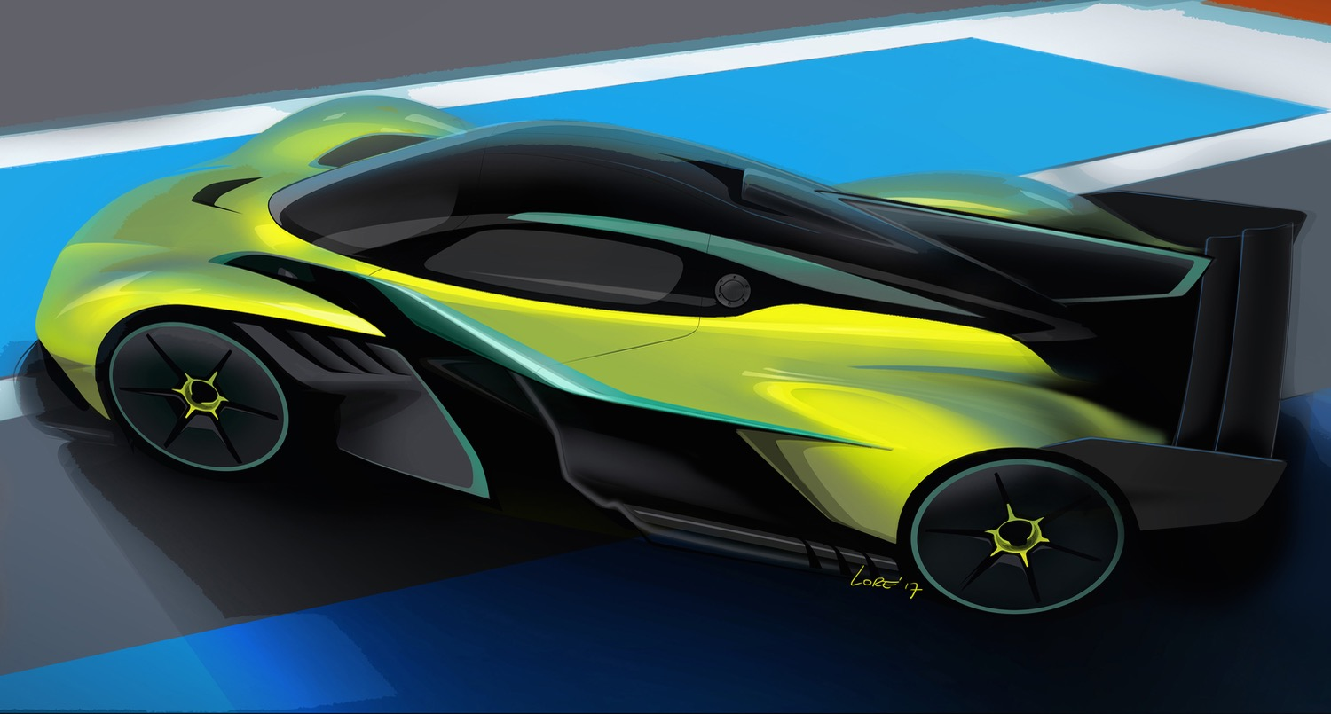 Aston Martin Valkyrie AMR Pro will be able to fight race cars on ...