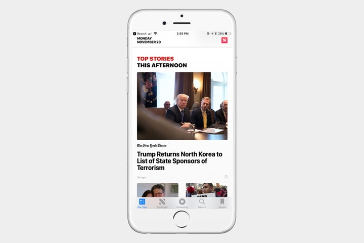 The best iphone apps available right now august 2018 page 9 apple news is already available on all ios devices and reduces the need for a variety of news apps the for you tab allows you to pick and choose publicscrutiny Image collections