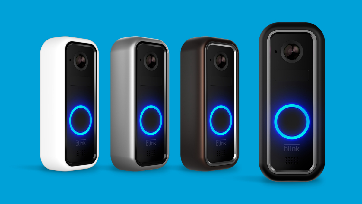 with batteries that last 2 years blink s video doorbell. Black Bedroom Furniture Sets. Home Design Ideas