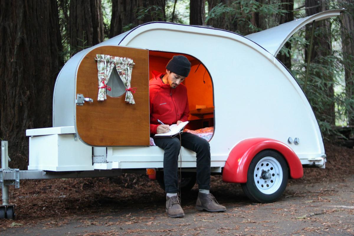 Have Wanderlust Rent The Forest Cottage Teardrop Trailer