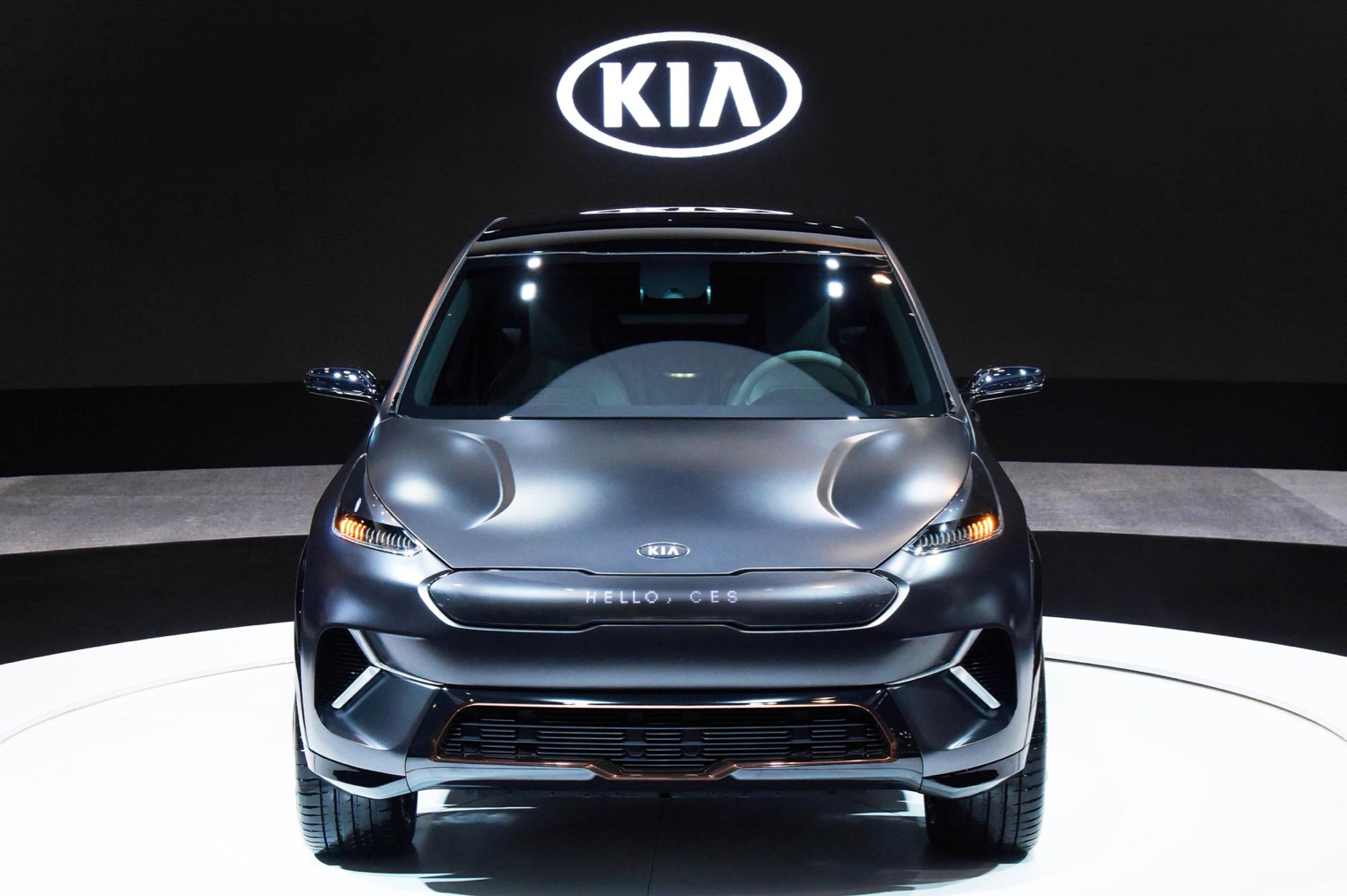 kia s future includes self driving cars more electrified models car sharing. Black Bedroom Furniture Sets. Home Design Ideas