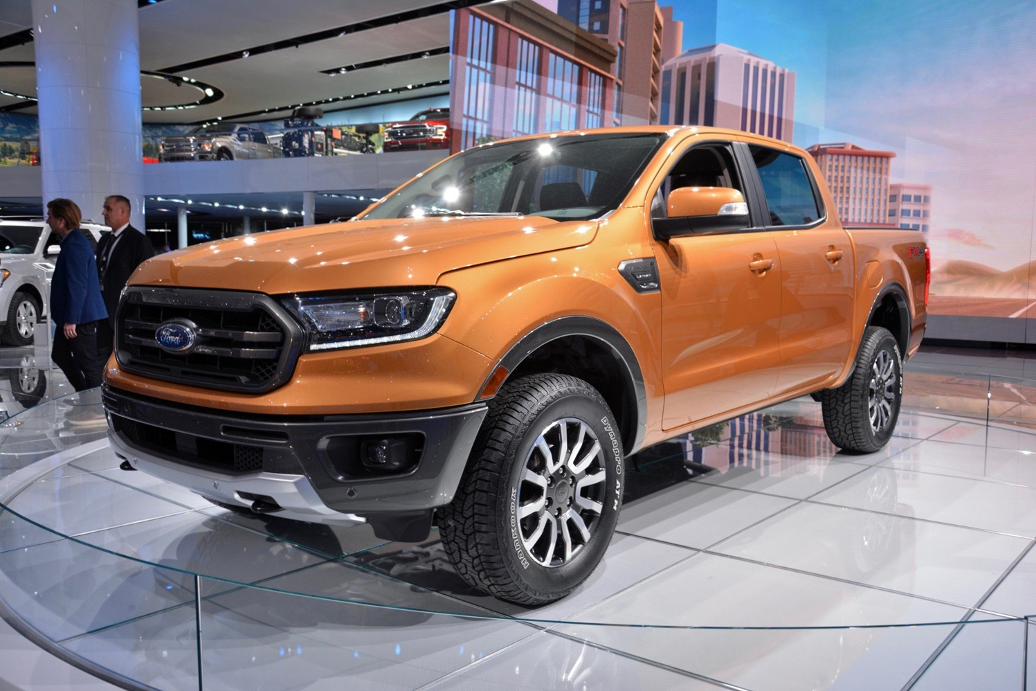 ford ranger pickup aims    lost ground   dose  tech
