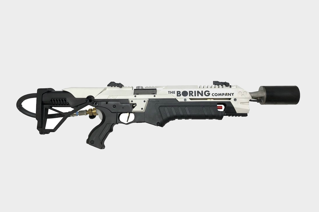 check out elon musk s 500 boring company flamethrower. Black Bedroom Furniture Sets. Home Design Ideas