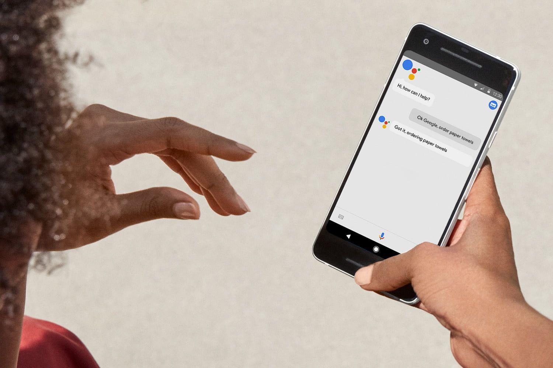 Hasil gambar untuk Google Assistant Makes CES Splash